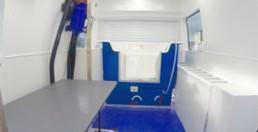 Mobile Grooming Salon Interior 1