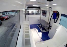 Mobile Grooming Salon Interior 2